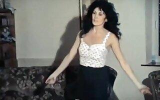 BORN TO BE WILD - vintage mature stockings strip dance