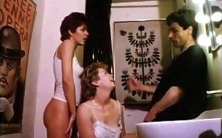 Sweet porn movie with retro hairy gals enjoying fucking