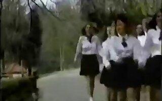 Vintage Schoolgirls Enjoyment.