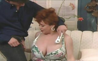 Huge tits vintage bbw step mom