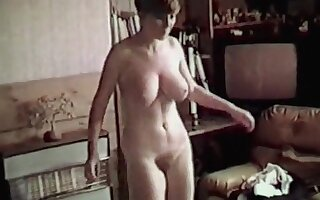 YOU SHOWED ME - hairy college girl big boobs strip dance tease