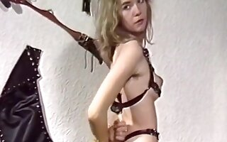 Bondage grils (Hairy armpits and cunts )