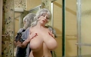Chesty Morgan Washing Her World's Biggest Bust