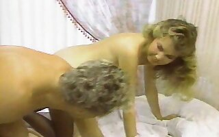 Vintage beauty Sheena Horne gets shafted balls deep by Randy West