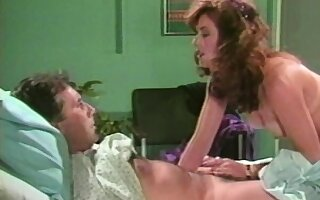 Shanna McCullough gets on top of John Leslie and rides his hard cock