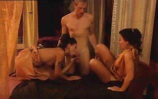 Vanessa Dreamland - Hot Costumed Threesome Porn Sheet